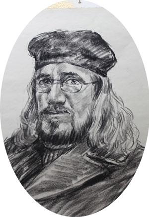 Luis Ramirez self portrait